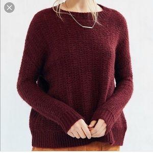 BDG wool crewneck sweater chunky knit M
